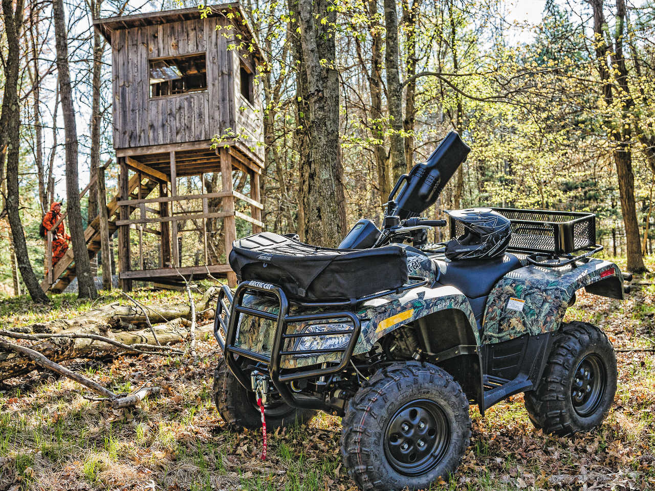 2015_arctic-cat_650_camo__front-right_parked_by-treestand