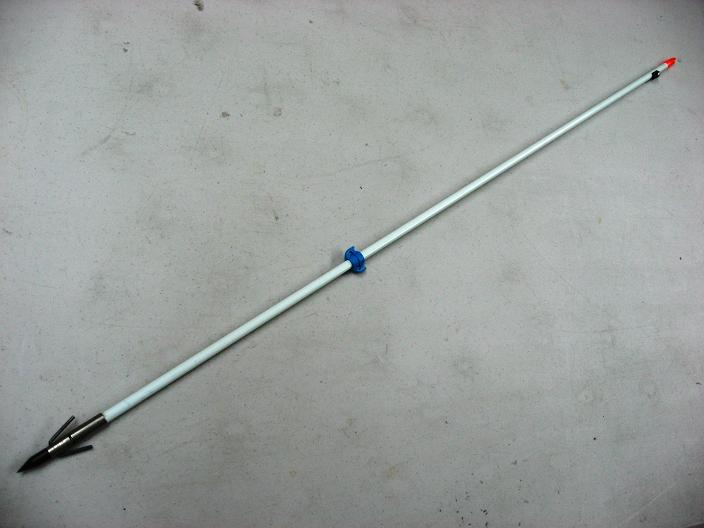 Bowfishing arrow w shure shot point stone gear for Bow fishing gear